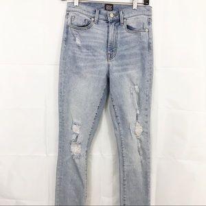 BDG Jeans Twig High Rise Skinny Distressed Stretch